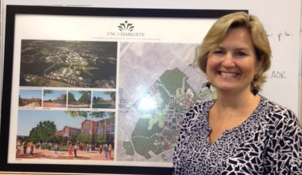 Laurie at UNC Charlotte